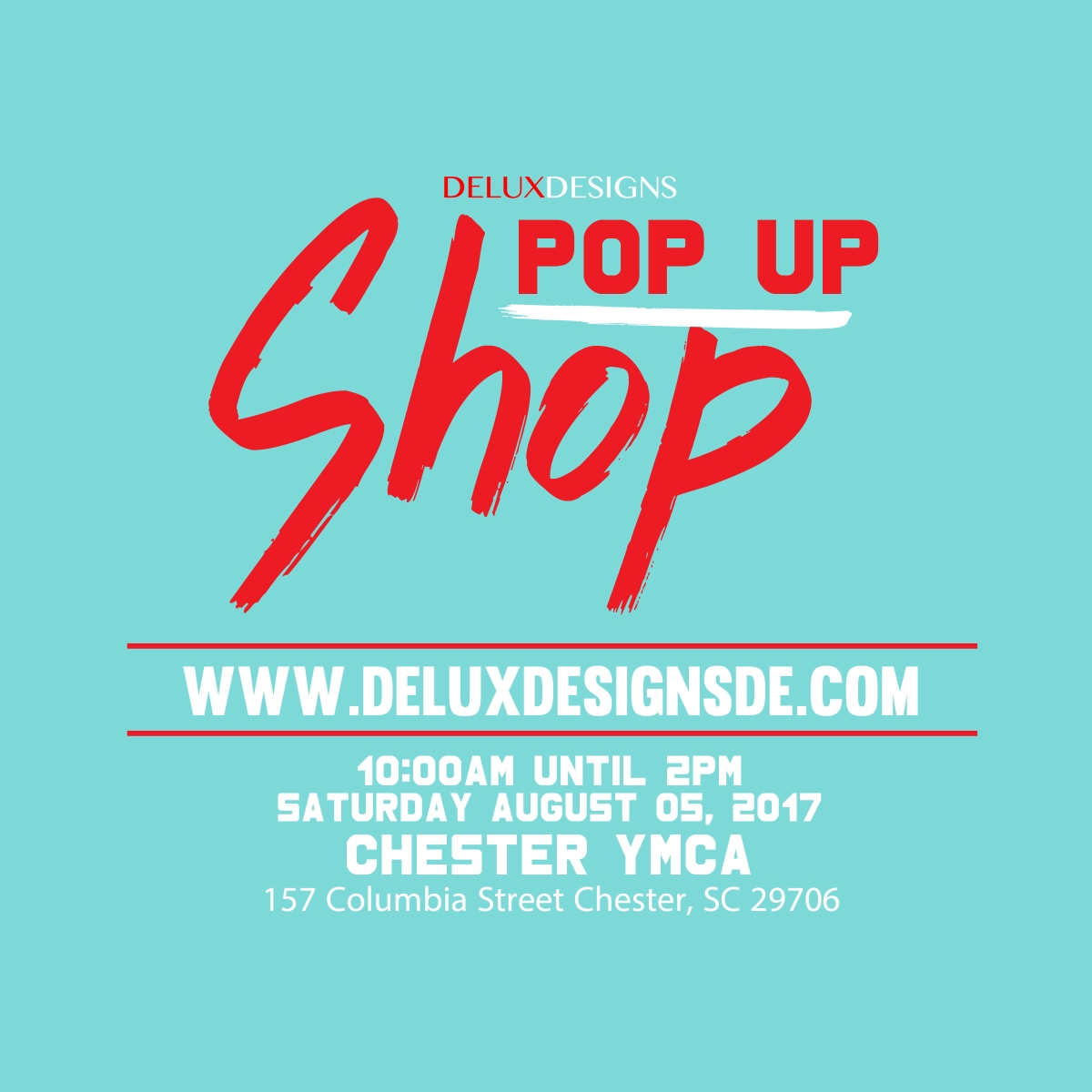 DE Pop Up Shop! [Chester, SC]